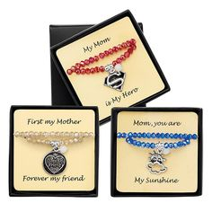 My Mom Is.... Bracelet | AVON    Honor Mom with an adorable braclet for just $8... shop today at www.youravon.com/jbay  #momsday #jewelryformom