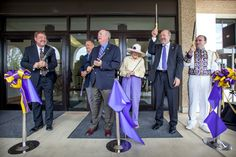 "On April 26, #LSU unveiled its new home for ""The Golden Band from Tigerland,"" officially cutting the ribbon on the new Tiger Band Hall facility at an event hosted by the LSU College of Music & Dramatic Arts. Finally, The Golden Band has indoor rehearsal space that can hold it's entire membership."
