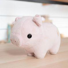 Cute Stuffed Animals, Cute Animals, Stuffed Animal Diy, Disney Stuffed Animals, Pet Pigs, Cute Plush, Cute Little Things, Cute Toys, Plush Dolls