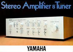 Amplifier Tuner 1976 Stereo Amplifier, Yamaha, Audio, Dns, Anonymous, Public, Electronics, Vintage, Primitive
