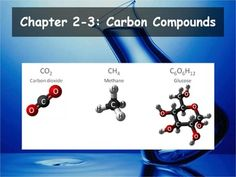 Biology - Carbon Compounds Powerpoint and Guided Notes) Biology Textbook, Biology Teacher, Teacher Pay Teachers, Daily Objectives, Cornell Notes, High School Biology, Chemical Reactions, Teacher Newsletter, Chemistry