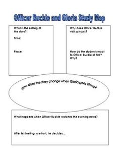officer buckle and gloria activities | Officer Buckle and Gloria Comprehension Questions