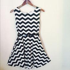 Medium chevron dress She needed the perfect dress for twirling. ✨ Dresses