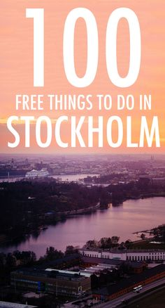 Stockholm is expensive. But the truth is, you can do loads of fun stuff without spending a single krona.