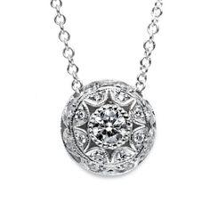 Diamond Pendant - La Maison D'or