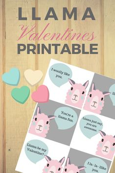 Printable Llama Valentines for Kids Valentines Day Activities, Valentines Day Party, Valentines For Kids, Valentine Day Crafts, Activities For Kids, Valentines Day Harry Potter, Walmart Valentines, Valentine Ideas, Pick Up