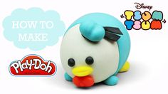 Tsum Tsum - Play Doh Making Donald Duck