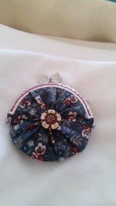 Monedero yoyo patchwork