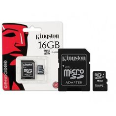 Picture of Cartao De Memoria Classe 4 Kingston Micro Sdhc Com Adaptador Sd C Sony Xperia, Camcorder, Kingston Technology, Usb, P8 Lite, E 10, My Memory, Memories, Phone