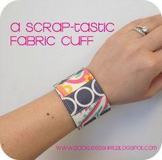 Fabric cuff - easy enough