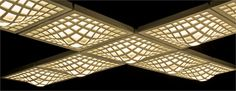 Fabbian on trend with ceiling lights that can be assembled into a larger composition.