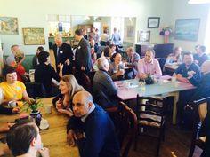 Brighton Chamber of Commerce, pop up breakfast at Emmaus Brighton