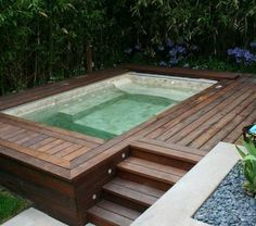 Above Ground Spa Pool Best Swim Spa Ideas Images On Small Swimming Pools For Above Ground Plans Above Ground Plunge Pool Spa