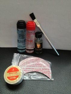 Kit de colle capillaire  pour coller votre full lace wig ou votre complément capillaire.