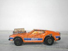 Tangerine Vintage Matchbox Sunkist Mustang by RhettDidntGiveADamn, $6.50