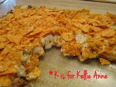 DORITOS® Taco Bake - Cheesy & Crunchy Goodness!!