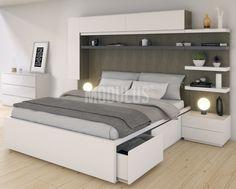 Dormitorio moderno diseño minimalista. #dormitorio #contemporaneo #contemporary #design