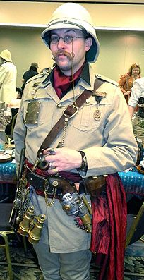Steaming Apparel from the Tell-Tale Tailor: Explorer steampunk costume