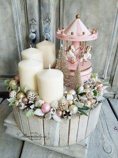 Xmas Decorations, Winter Christmas, Daisy, Candles, Handmade, Crafts, Home Decor, Ideas, Events