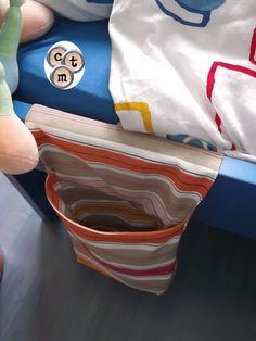 corbeille de lit en tissu