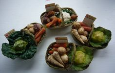 WWII Trug of vegetables by Abasketof on Etsy