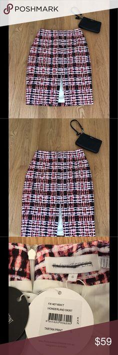 d41f531c62 Finders Keepers NWT Wonderland Tartan Skirt Sz Sm. New With Tags Finders  Keepers Wonderland Skirt