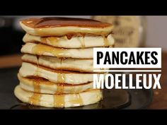 My best recipe for fluffy pancakes, easy and quick, with my tips for . - My best recipe for fluffy pancakes, easy and quick, with my tips for success every time. Pancakes Easy, Fluffy Pancakes, Crepes, Most Popular Recipes, Favorite Recipes, Parfait, My Best Recipe, Savoury Cake, Clean Eating Snacks