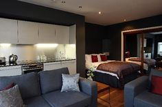 One Room Studio Apartment | Studio Apartment, Park Place - Picture of The Chambers Park Place ...