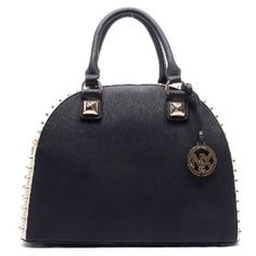 Designer inspired handbag Faux leather Zip top closure Gold-tone hardware Detachable shoulder strap L 14 * H 10.5 * W 5.5 (5 D)