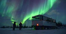Natural Habitat's Aurora Pod, Churchill, Manitoba, Canada