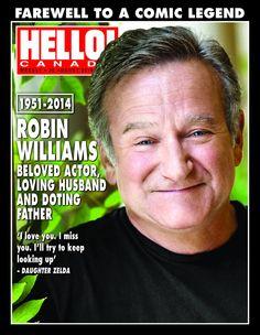 Hello Magazine-- In Remembrance of Robin Williams