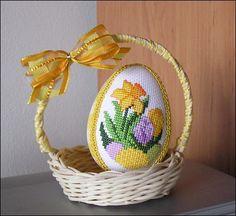 View album on Yandex. Cross Stitching, Cross Stitch Embroidery, Funny Cross Stitch Patterns, Easter Crochet Patterns, Easter Cross, Cross Stitch Finishing, Egg Art, Spring Crafts, Pattern Paper
