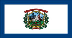 West Virgiinia State Flag - About the West Virgiinia Flag, its adoption and history from NETSTATE.COM