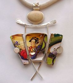 Tea Icon - Art Jewelry Magazine - Jewelry Projects and Videos on Metalsmithing, Wirework, Metal Clay