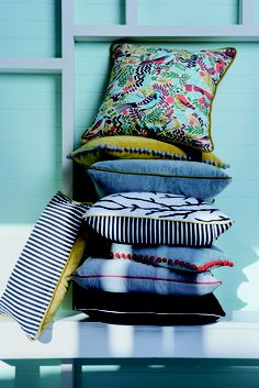 We love colours and stripes! #linenandmoore