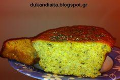 Όλα για τη δίαιτα Dukan: Ψωμάκι Ντουκάν πολύσπορο Dukan Diet, Banana Bread, Healthy Recipes, Desserts, Food, Tailgate Desserts, Deserts, Essen, Healthy Eating Recipes