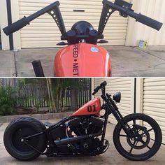 ⚡️⚡️☠⚡️⚡️ #custom #softail #chopper #fatboy #harleydavidson #bobber #turing #motorcycle #dyna #indian #hotrods #shovelhead #stretglide #lowrider #brat #flathead #knucklehead #hemelt #bikelife #motos #panhead #motocicletas #bike #kustom #oldschool #breakout