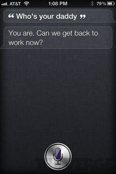 Funny things that Siri says on the new iPhone 4S. Love it!