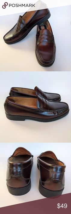 1199eae6a5a Weejuns Larson Moc Penny Navy Leather