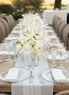 33 White Wedding Decoration Ideas Wedding bride Decoration and
