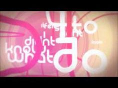 10 Kinetic Typography Music Videos, #4 of 10, via @Mashable