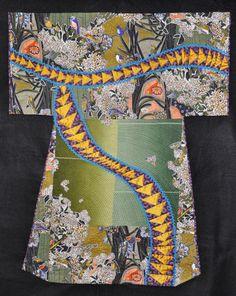 Kimono series art quilt by Diane Wright