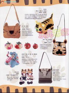 Bonitos bolsos y carteras