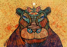Hippopotamus and butterfly Art Area, Hippopotamus, Moose Art, Butterfly, Disney Princess, Disney Characters, Animals, Etsy, Animales