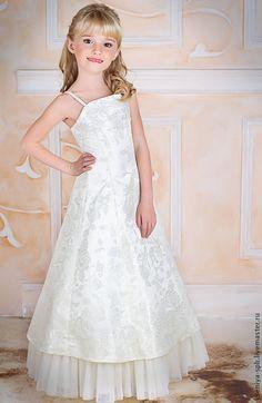 Купить длинное платье детское