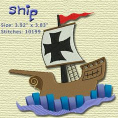 Embroidery Design for machine embroidery Boy by smartneedle, $5.99