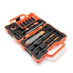 KIT PROFESIONAL DE REPARACION SMARTPHONES. Completo Kit profesional de 45 piezas para reparación de todo tipo de Smartphones y otros dispositivos electrónicos. Completo maletín de herramientas de alta calidad fabricadas en aluminio, plástico y acero inoxidable. Todas las herramientas están diseñadas con un mango de agarre antideslizante para mayor comodidad y eficiencia. registrate gratis,nºinvitación 225/ todastuscompras.com