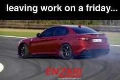 Have a great weekend everyone #FridayFeeling #work #weekend #cars #enzari #alfaromeo