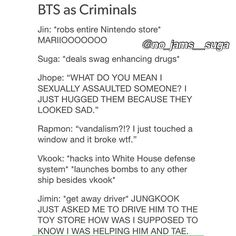 Jin could never do anything wrong.. On the other hand V and Jungkook scare me when they are together