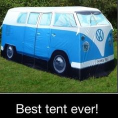 Tent... for when you don't go camping.